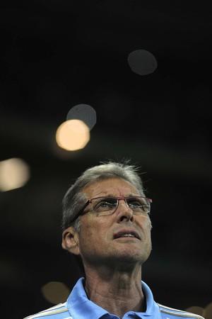 Oswaldo de Oliveira Palmeiras x Internacional (Foto: Marcos Ribolli)