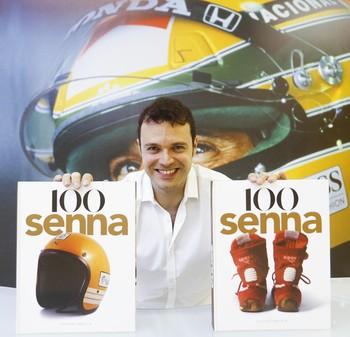 """Celso de Campos Jr., autor do livro """"100 Senna"""" (Foto: Divulgação/ Instituto Ayrton Senna)"""