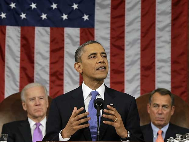 Obama discursou por cerca de uma hora. (Foto: AFP Photo)