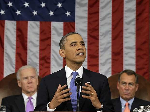 Obama discursou por cerca de uma hora. (Foto: AFP Photo)