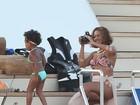 Babona, Beyoncé fotografa a filha em programa família