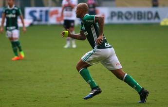 """Felipe Melo elogia estrutura do Palmeiras: """"Melhor que a da Inter"""""""