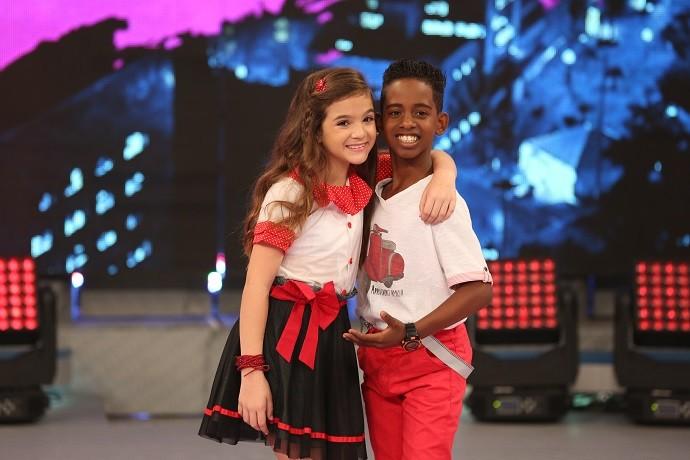 Mel Maia é a vencedora do 'Dancinha' (Foto: Carol Caminha/Gshow)
