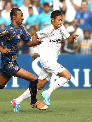 Neymar jogo Santos Penapolense (Foto: Lucas Baptista / Futura Press)
