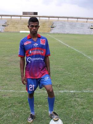 Aílson, promessa do Piauí (Foto: Wenner Tito/GLOBOESPORTE.COM)