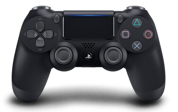 Nova versão do controle DualShock 4 acompanha o PS4 Slim e o PS4 Pro (Foto: Divulgação/Sony)