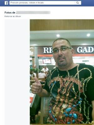 Alexandre Murta, segurança de Freixo assassinado  (Foto: Reprodução/ Internet)
