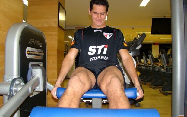 Ganso treino São Paulo (Foto: Site oficial do São Paulo)