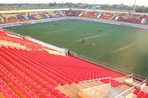 Arena da Floresta, em Rio Branco-AC, é o principal palco do Estadual (Foto: João Paulo Maia)
