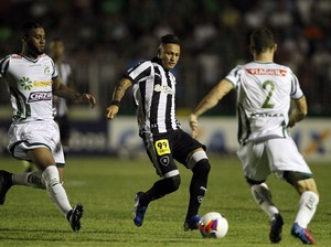 Neilton Botafogo x Luverdense (Foto: Vitor Silva / SSPress)
