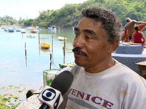 Pescadores falam sobre as mudanças na rotina (Foto: Foto: Reprodução / TV Gazeta)