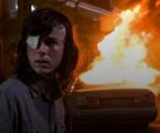 Chandler Riggs em cena como Carl em 'The walking dead' | AMC