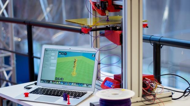 Impressora 3D, impressão, 3D (Foto: Reprodução/Wikimedia Commons)