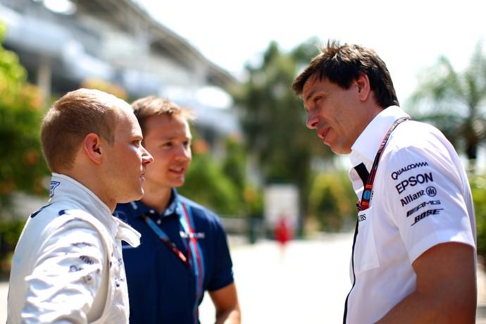 Valtteri Bottas e Toto Wolff F1 (Foto: Getty Images)