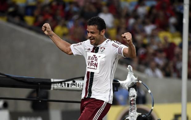 Flamengo x Fluminense Fred Maracanã
