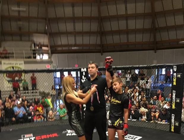 Gabriel Wanderley MMA infantil
