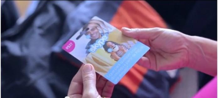 Cartões Skype chegam ao Brasil. Opção de ligações gratuitas permanece. (Foto: Reprodução/Skype)