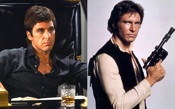 Al Pacino e Harrison Ford (Foto: Reprodução)