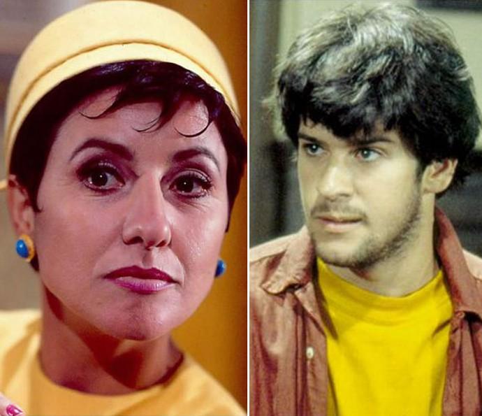 Cassia Kis e Murilo Benício na novela Fera Ferida (Foto: Bazilio Calazans/TV Globo)