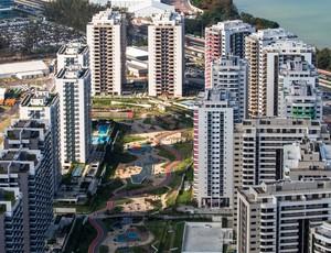 Rio 2016 Vila dos Atletas vista aérea (Foto: Gabriel Heusi/Brasil2016.gov.br)