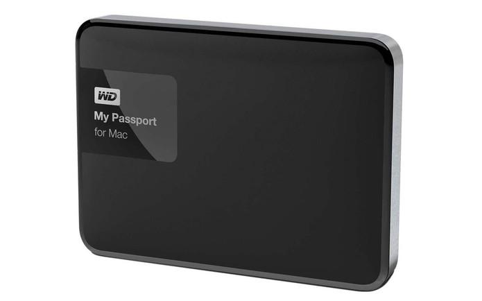HD externo WD Passport para Mac (Foto: Divulgação/WD)