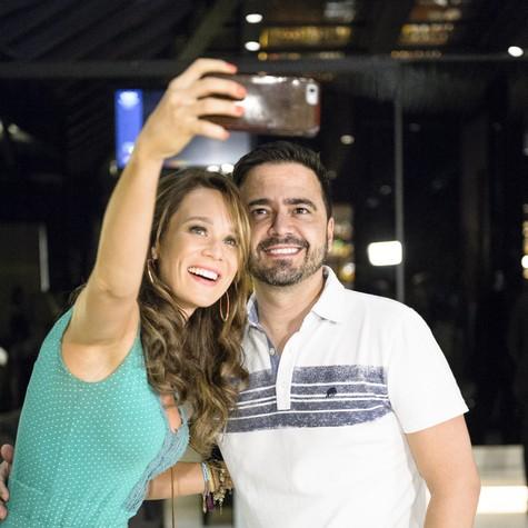 Mariana Ximenes e Daniel Ortiz (Foto: Ramón Vasconcellos/ TV Globo)