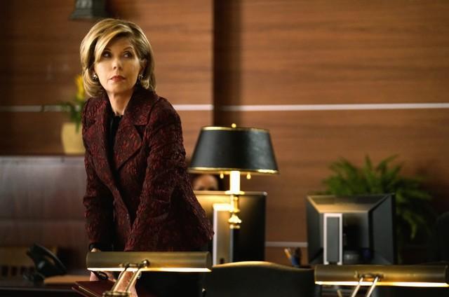 Christine Baranski em cena de 'The good fight' (Foto: Divulgação / CBS)