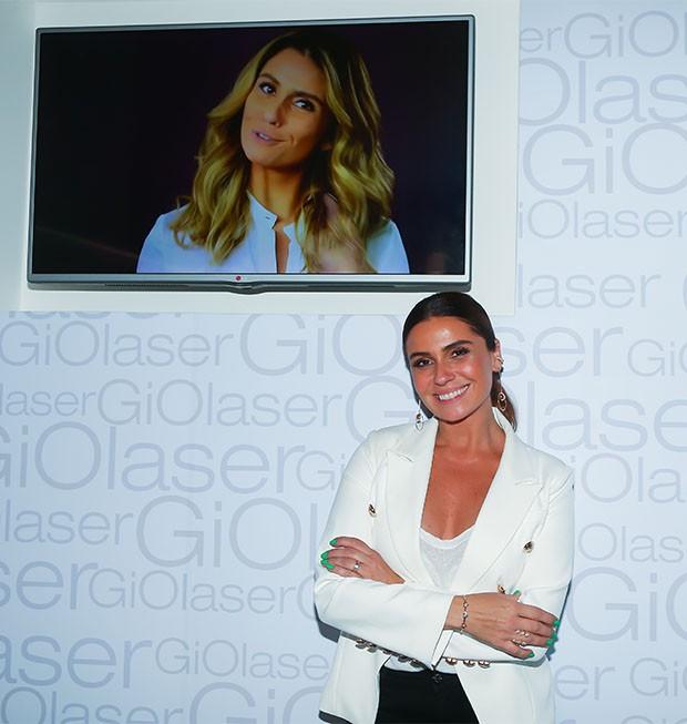 Giovanna Antonelli inaugura sua Gio Laser  (Foto: Divulgação)