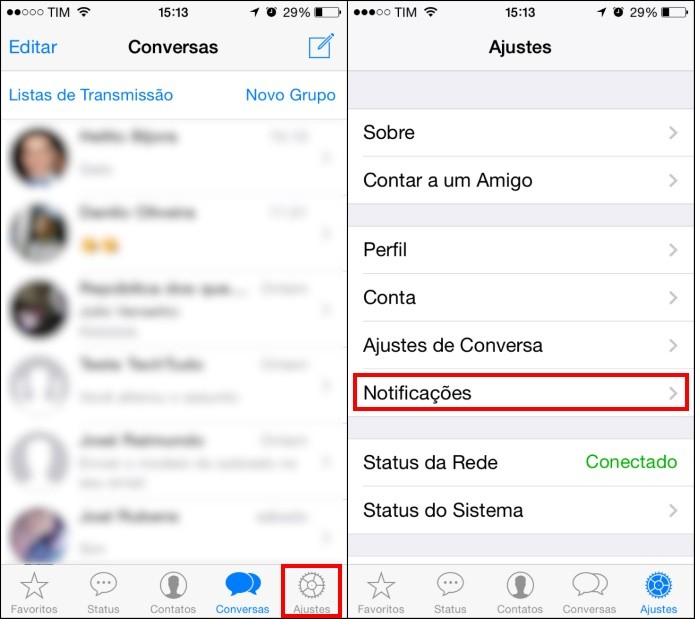 Como Desativar A Pr 233 Via De Mensagens Do Whatsapp No Ios