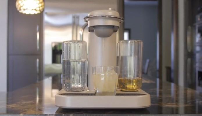 Máquina que faz drink (Foto: Reprodução/Kickstarter)