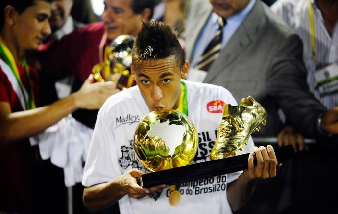 Neymar 2010 (Foto: Marcos Ribolli / Globoesporte.com)