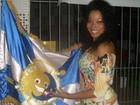 Rainha do carnaval da Acadêmicos do Sul da Ilha morre aos 31 anos em SC