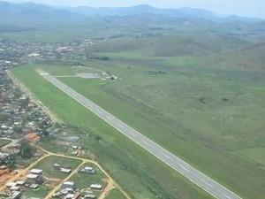 Aeroporto de Itaperuna, no Noroeste do Rio (Foto: Divulgação/Prefeitura de Itaperuna)