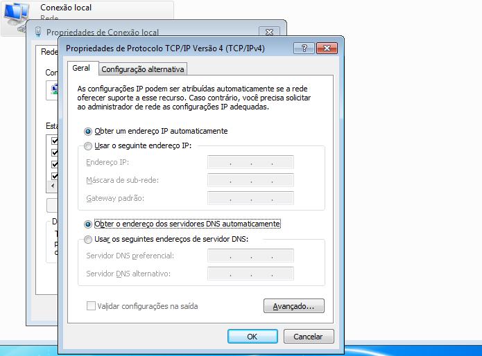 Configuração valida com IP dinâmico (Foto: Reprodução/Edivaldo Brito)