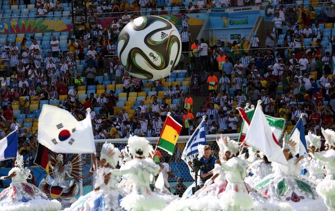 Festa de encerramento maracanã final da copa 2014 (Foto: André Durão / Globoesporte.com)