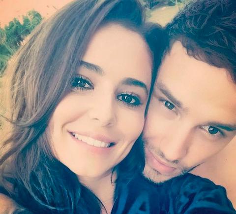 O cantor Liam Payne com a esposa, a cantora e modelo Cheryl (Foto: Instagram)