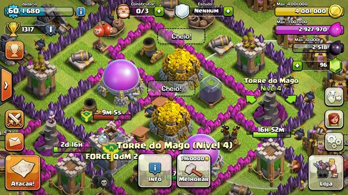 gems in clash of clans