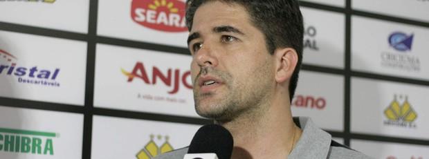 Rodrigo Pastana, gerente de futebol do Criciúma (Foto: Fernando Ribeiro, Divulgação / Criciúma EC)