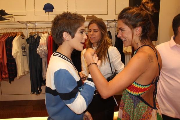Isabella Santoni e Mariana Goldfarb (Foto: Rogerio Fidalgo - AgNews)