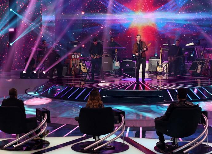 Scalene se apresenta com música autoral na grande Final do SuperStar (Foto: Isabella Pinheiro / Gshow)