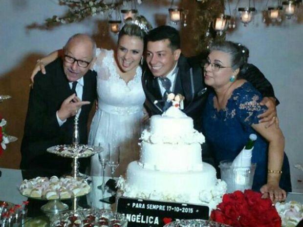 Orival Pessini com a família (Foto: Pedro Pessini/Arquivo Pessoal)