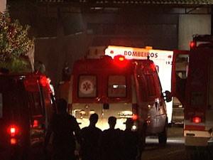incêndio hospital são rafael (Foto: Imagens/TV Bahia)