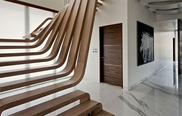 21 Ideias Criativas Para Escadas Casa Vogue Ambientes