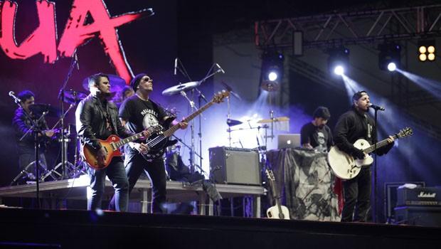 Entre as 40 atrações, a banda Detonautas era uma das mais esperadas pelo público da Pedreira (Foto: Luiz Renato Correa/RPC)