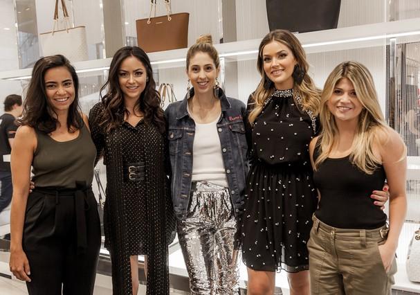 Alline Cury, Luciana Tranchesi, Paula Merlo, Marcela Tranchesi e Giovana Romani  (Foto: Susana Castro)