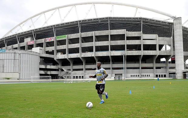 Seedorf treino Botafogo (Foto: Fábio Castro / Agif)