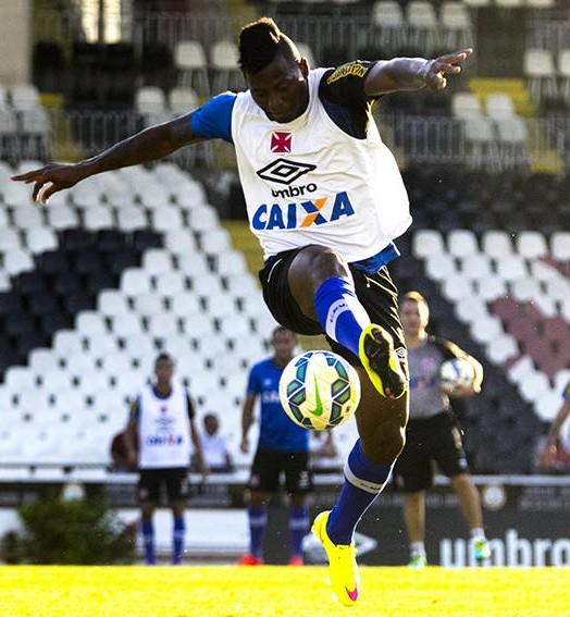 estreia à vista (Paulo Fernandes/Vasco.com.br)