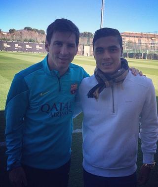 Alisson Farias Inter Messi (Foto: Reprodução/Instagram)