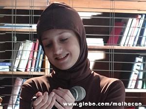 Giovana canta com os amigos (Foto: Malhação / TV Globo)