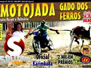 Presidente da Uipa entrou com ação após ver cartaz do evento 'Motojada' (Foto: L&C Produções/ Divulgação)